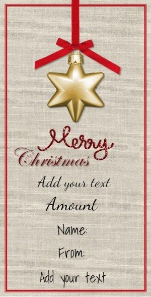 52 best Christmas Gift Certificates images on Pinterest Free - gift certificate download