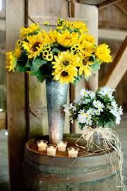 Image result for country flower arrangements in buckets
