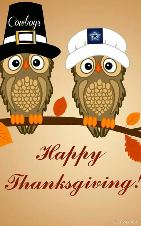 Happy Thanksgiving Cowboys Nation!