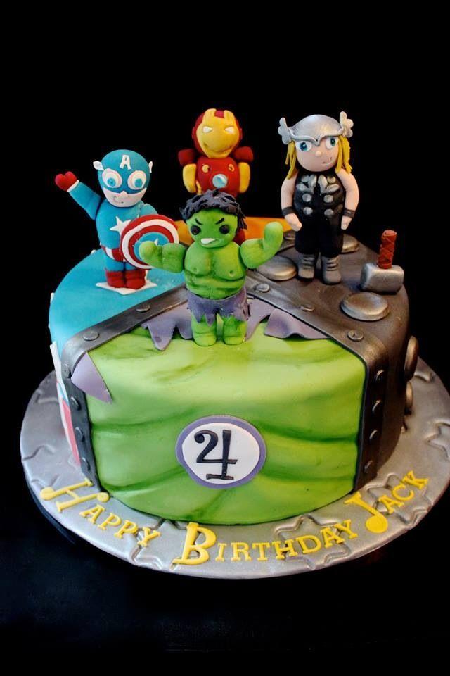 Avengers birthday cake  SweetDreams Bakery Cakes  Pinterest