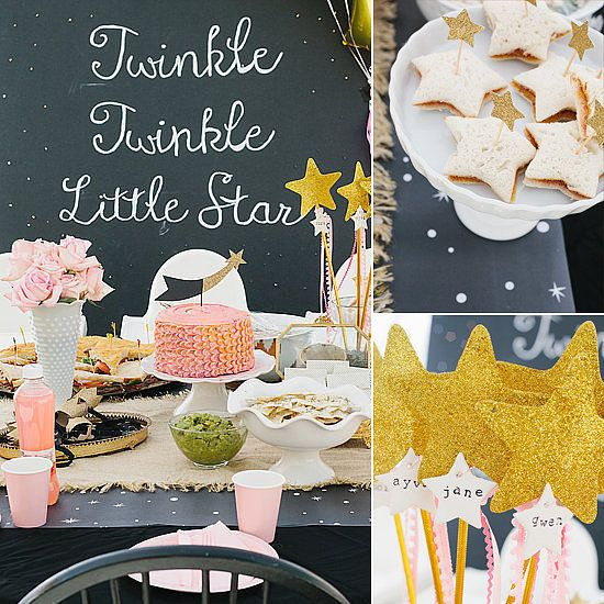 Twinkle, twinkle little star 1st birthday party #BabyCenterBlog
