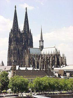 Kölnin tuomiokirkko – Wikipedia