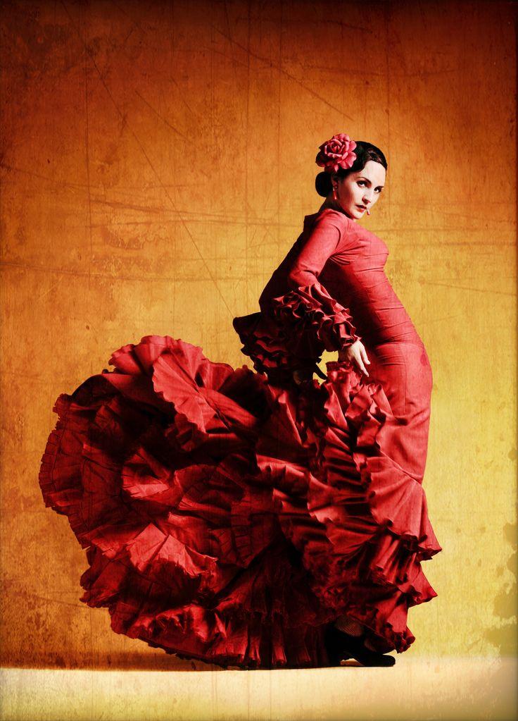 Flamenco Dancer.Creative dance using traditional dances, for inspiration.