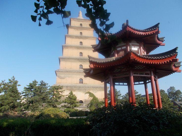 Giant Wild Goose Pagoda, Xian China