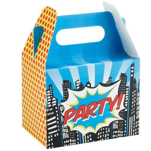 Geschenkboxen – Pop Art Superhero