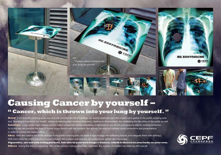 China Environmental Protection Foundation: No Smoking Cancer