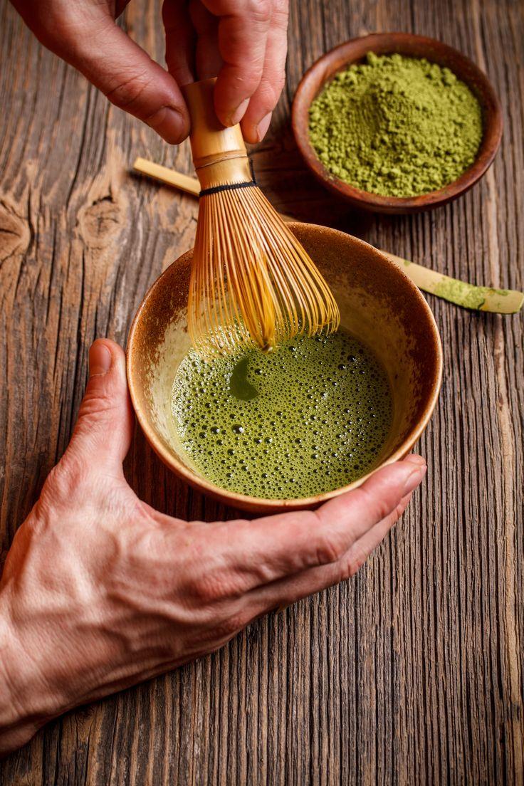 Matcha Tee Zubereitung – so geht's  #Rezept #Matcha  #Grüner #Tee #Anleitung #Zubereitung