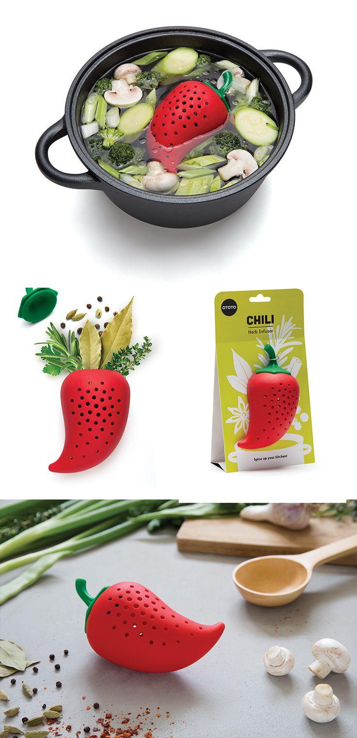 Chili, Herb Infuser - Ototo