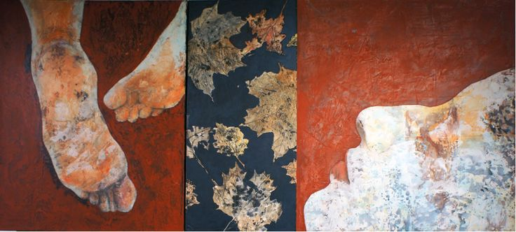 – ALL THE THINGS YOU NEVER DID –   Acrylics on prepared canvas | 150x60 cm | 2011