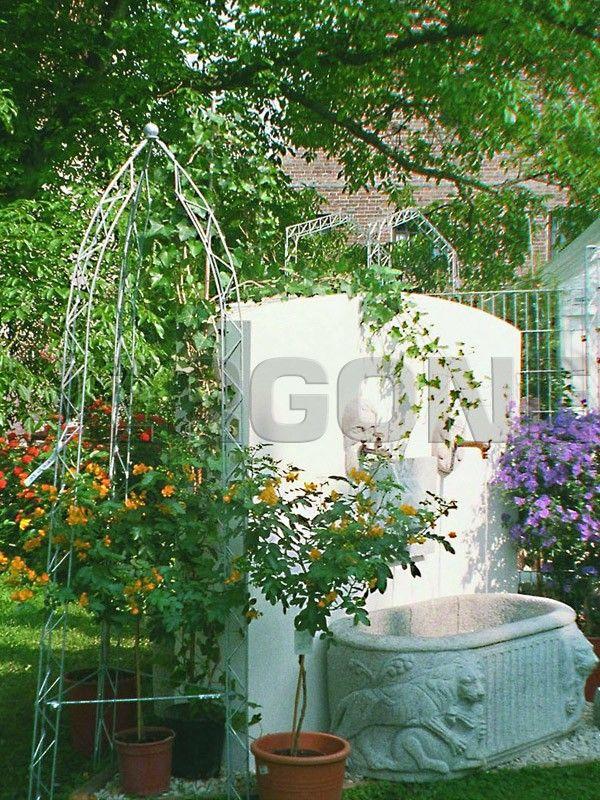 Фото - садовые арки, перголы для дачи, решетки, элементы - Pergone