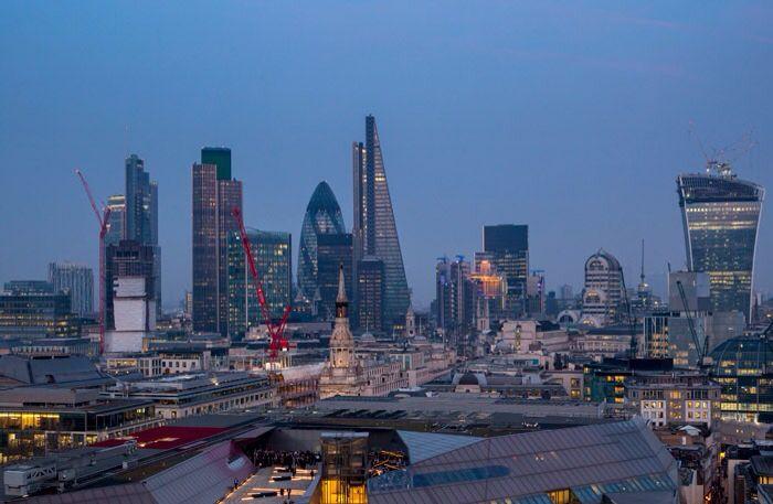 Gorgeous London new skyline