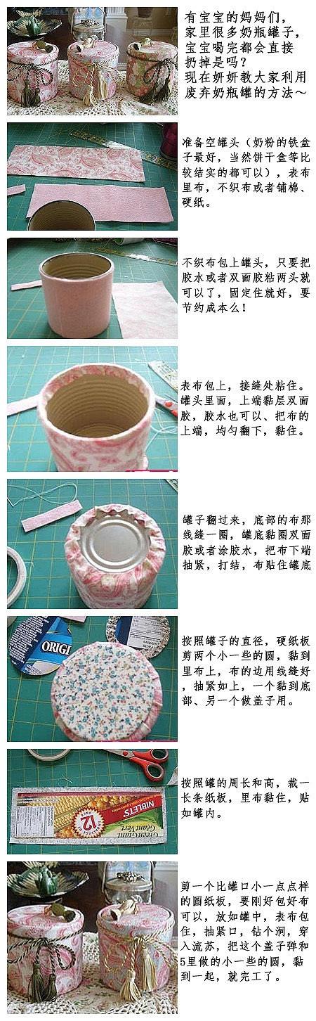reciclando una lata