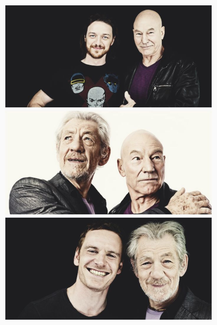 Michael Fassbender, Ian McKellen, James McAvoy and Patrick Stewart photographed by Michael Muller for Entertainment Weekley at SDCC, July 20th