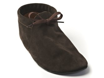 barefoot moccasins.