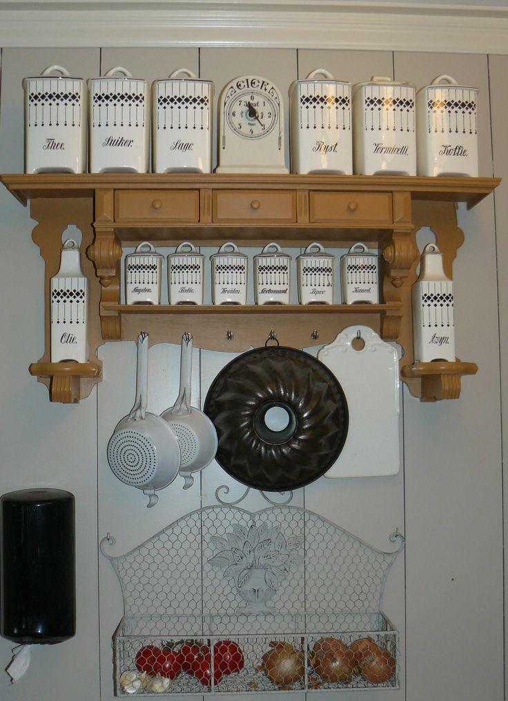 25 beste idee n over keuken rekken op pinterest open keukenrekken open planken en open rek - Deco keuken chique platteland ...