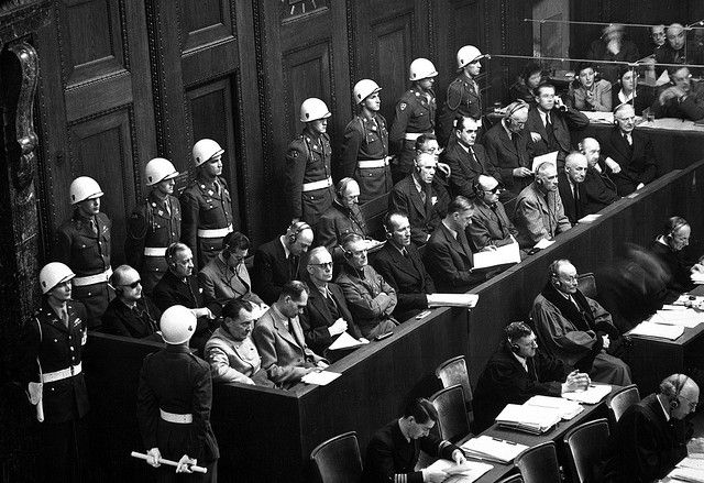 Julgamento de Nuremberg. Foto: National Archives/NARA/USA