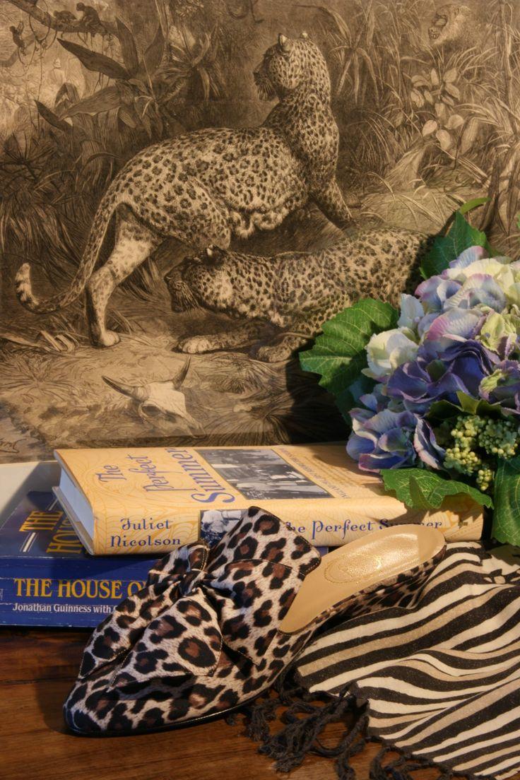 """""""Audace"""" - jaguar print http://store.leschaussonsdelabelle.com"""