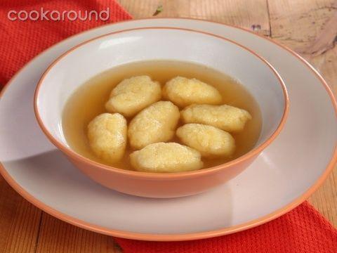 Griessnockerlsuppe: Ricette Austria   Cookaround