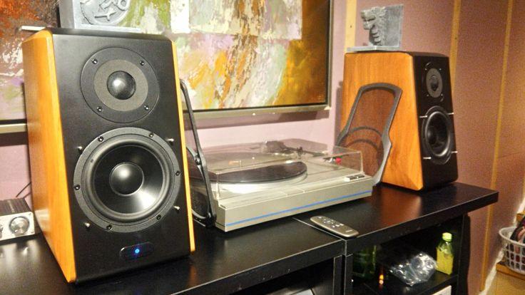 With my Edifier SB2000 Audiophile speaker