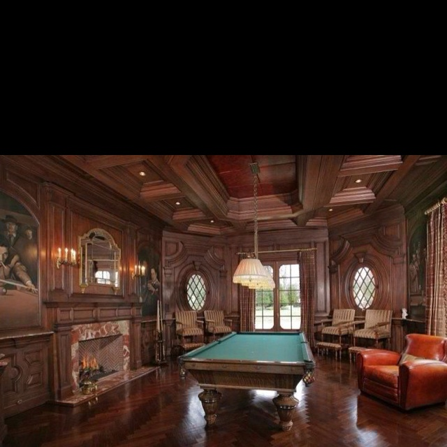 Billiard Rooms: Wendy Eigen Designs Billiard Room