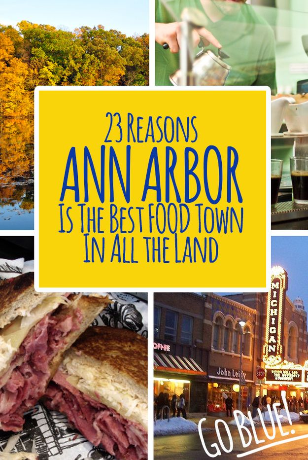 Check out some of the best places to eat food in Ann Arbor, Mich. Round up is published on buzzfeed.com