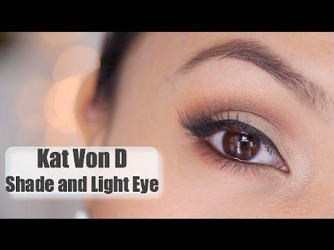 Kat Von D Shade and Light Eye Palette Tutorial - YouTube