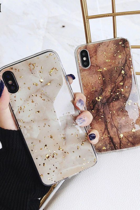 Luxury Gold Glitter Iphone Case