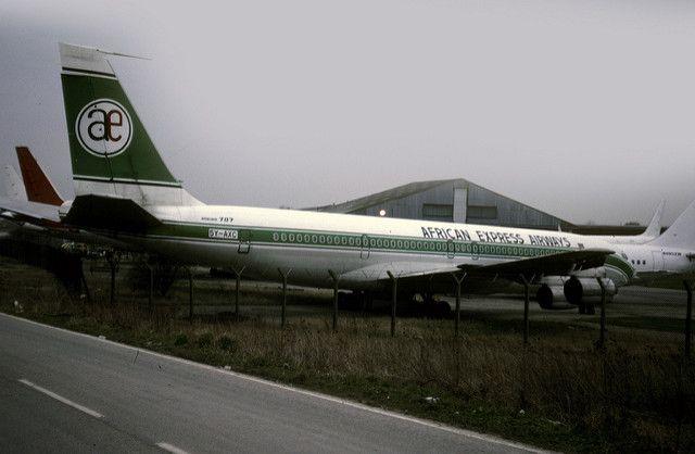 Boeing 707: 18746 707-351C 5Y-AXC African Express Airways … | Flickr