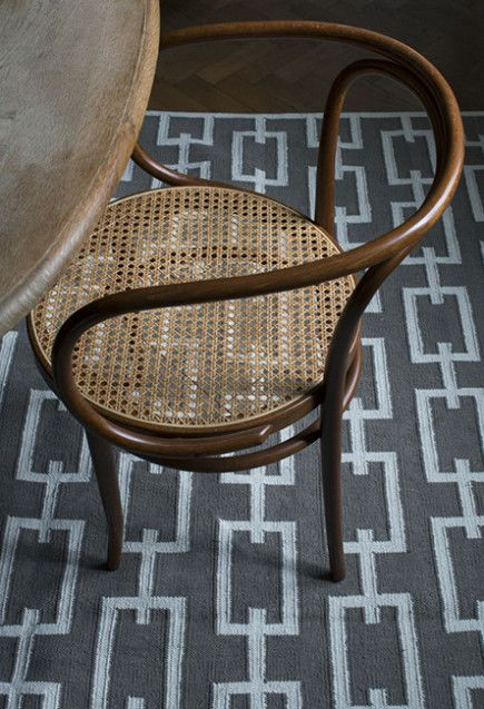 Love the styling of this room. Image showing Layered's Link Dark Nougat rug from their Signature Collection. Layered's rugs is handwoven in a premium, stable and heavy 100% cotton weave construction. Free worldwide shipping. See more at: http://layeredinterior.com/product/link/?attribute_pa_color=dark_nougat&image=Link_Dark-Nougat_webb#sthash.zStbqb6C.dpuf