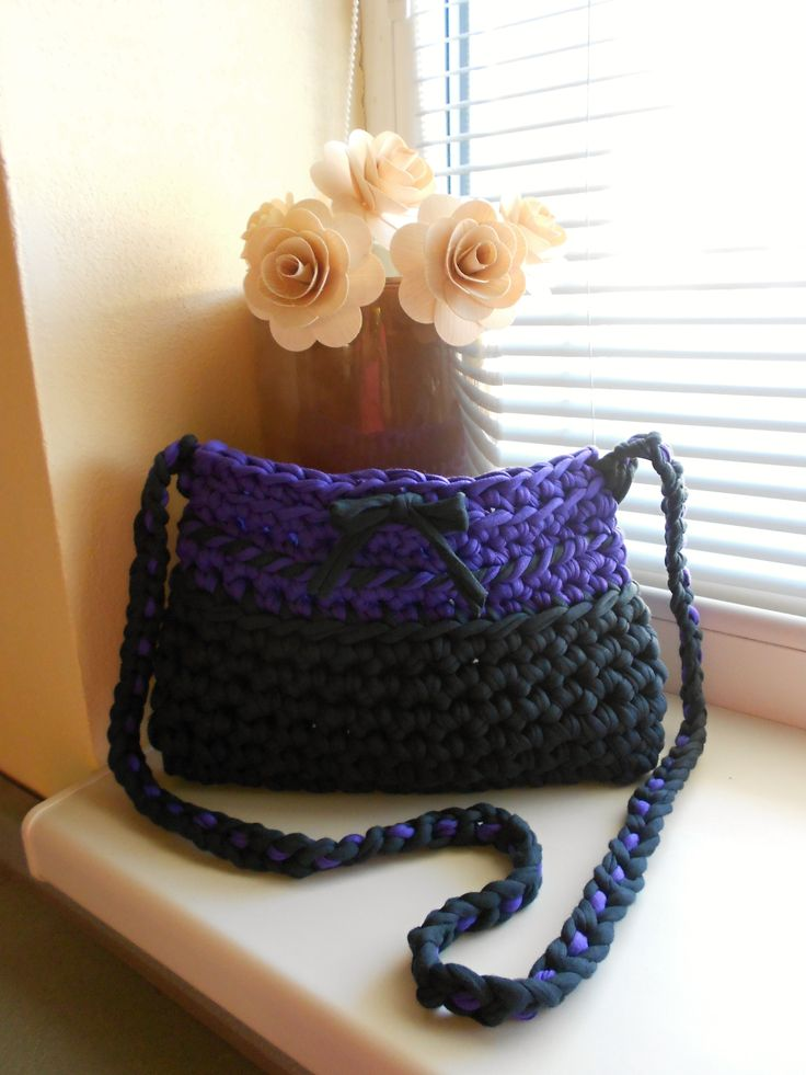 Purplegrey handbag