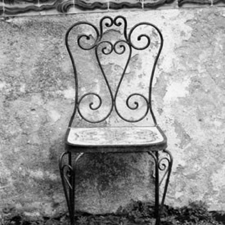 French garden chair via Pretty Parisian Wedding Theme on The LANE (PS follow us on instagram: the_lane)