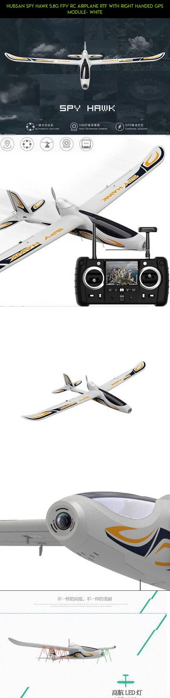 Hubsan SPY HAWK 5.8G FPV RC Airplane RTF With Right Handed GPS Module- White #racing #tech #gadgets #hubsan #plans #drone #kit #spy #shopping #fpv #hawk #technology #products #camera #parts