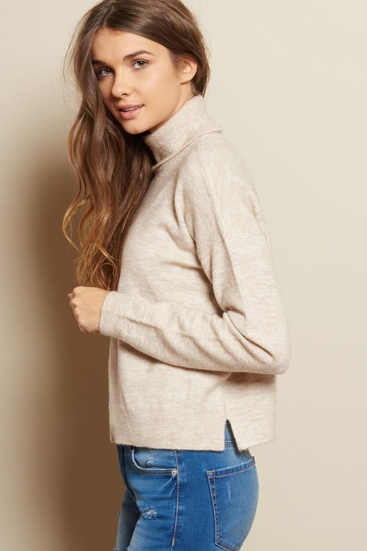 Midi Turtleneck Sweater
