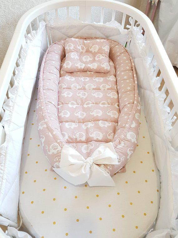 New Print Double Sided Babynest Baby Nest Baby Lounger Baby