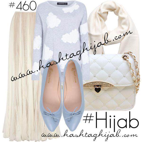 Hashtag Hijab Outfit #460 by hashtaghijab on Polyvore featuring Rochas, Nova Rosa, Chicnova Fashion, Pieces and hijab