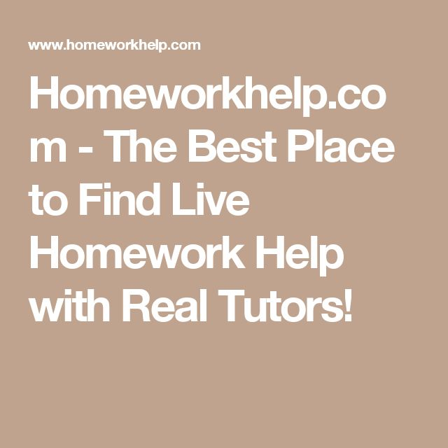 Live french homework help
