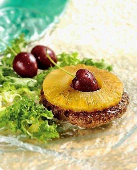 Hamburger all'ananas