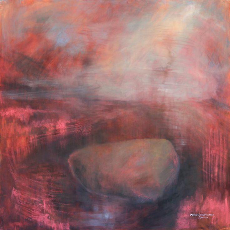 """Momentification"" Oil on canvas. 80cmx80cm"