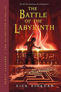 Percy Jackson & the Olympians, Book Four: The Battle of the Labyrinth