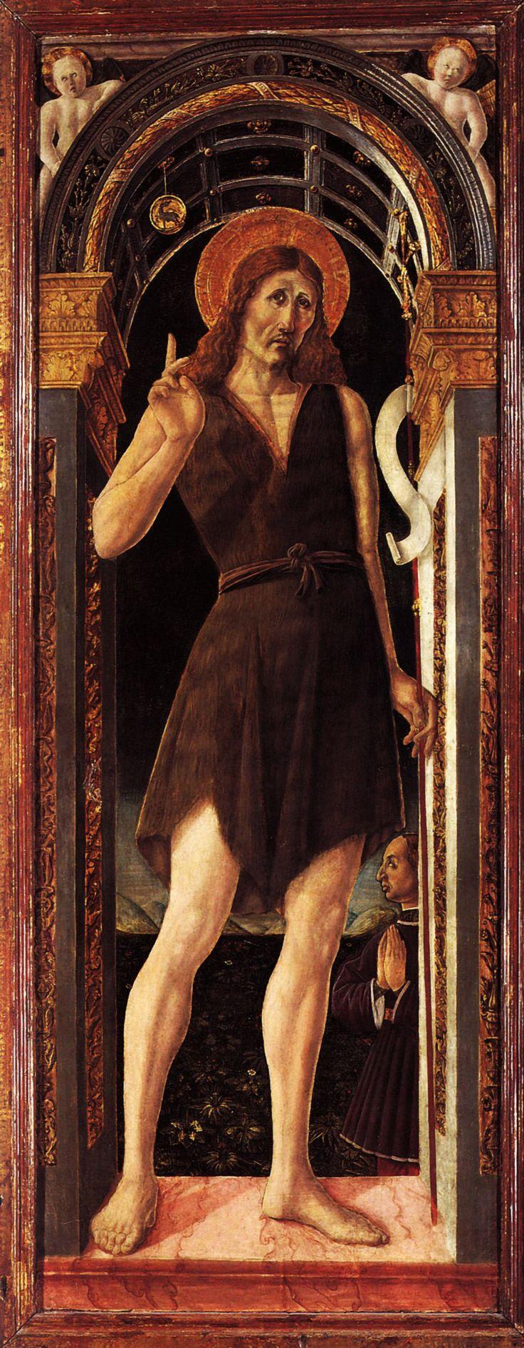 Saint Jean-Baptiste, par Giovanni Angelo d'Antonio