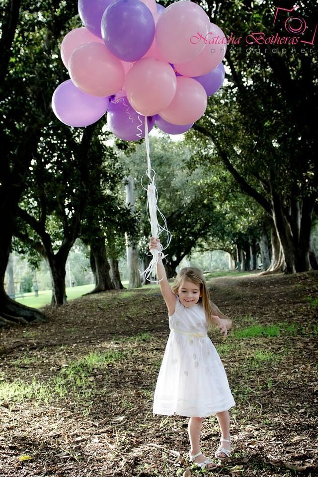 Balloon photoshoot #Holly