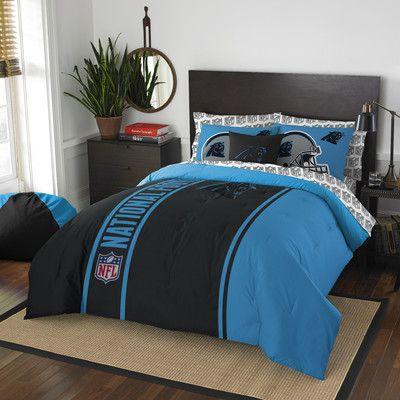 Northwest Co. NFL Panthers Comforter Set Size: