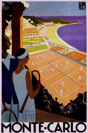 tournoi tennis à Monté Carlo