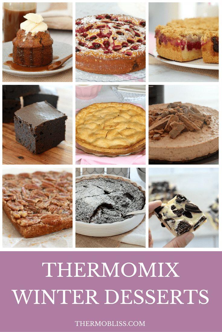 Thermomix Winter Desserts