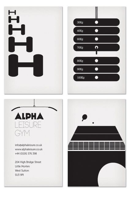 Awesome idea! -- Alpha Gym by Oliver North, via Behance