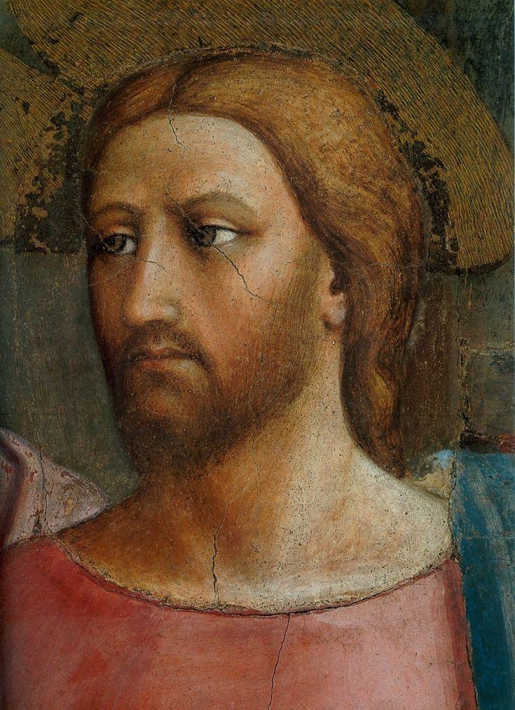 Мазолино (?). Христос, деталь фрески.