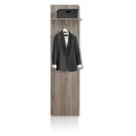Garderobenpaneel zumba sandeiche 50x199 cm flur for Garderobe zumba