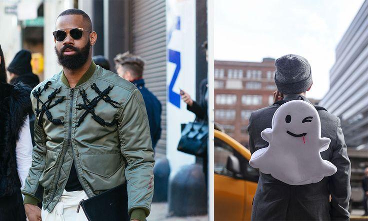 Streetstyle: 13 snygga looks från New York Fashion Week 2016