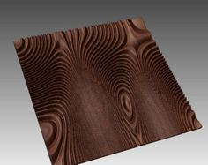 Wall panel 3D model for CNC machining with software by BonitumART