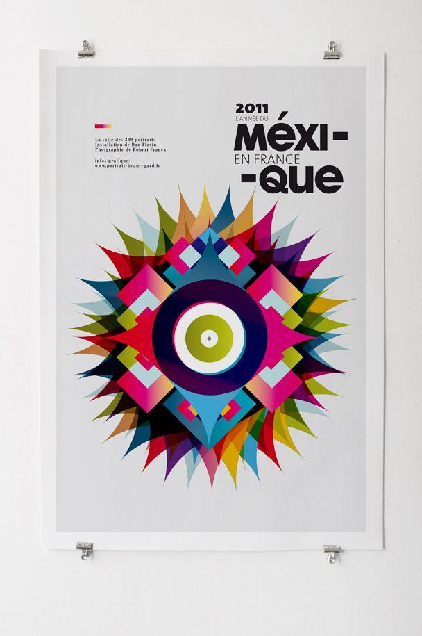 2011, l'année du Méxique en France by Les Graphiquants - #Design #Inspiration…